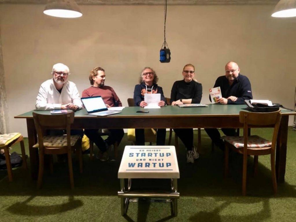 Stefan Schmidt, Christian Behrends, Michael TheineDimt, Silke Roggermann & Ralf Neuhäuser