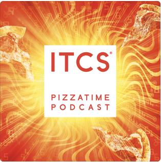 ITCS Pizzatime Podcast Label