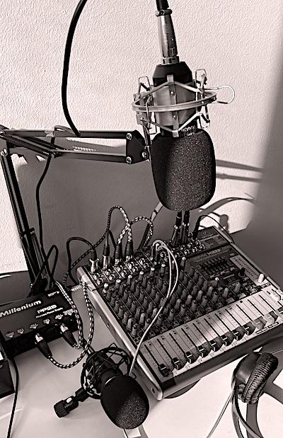 Mikrophone und Mischpult